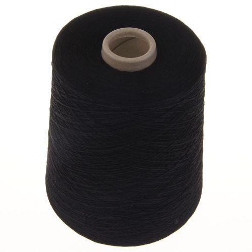 115. 1-Ply Mercerised Cotton - Black 354