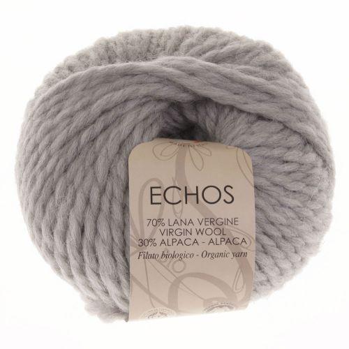 104. 'Echos' Organic Yarn on Ball - Silver 46