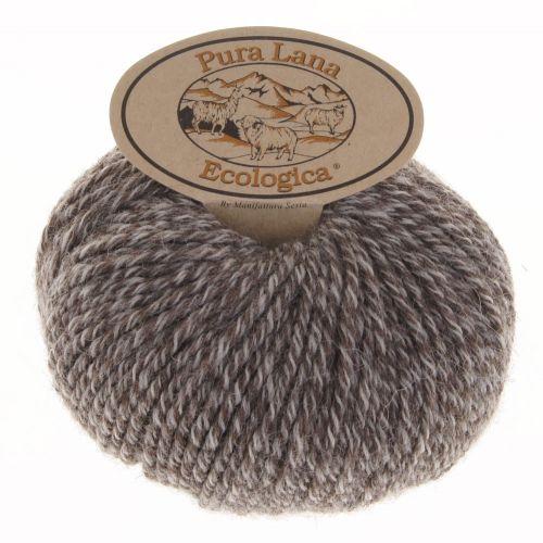 106. 'Ecologica' Wool - Brown Marl 612