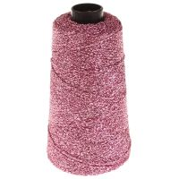 106. Knitted Lurex Spool - Pink