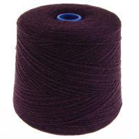 166. Lambswool Yarn - Blackgrape 186