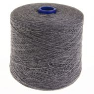 100103. Lambswool Yarn - Grey Mix 3