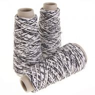 109. Cotton Latex Effect Yarn - Grafite