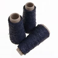 103. Latex Effect Yarn - Navy 7987
