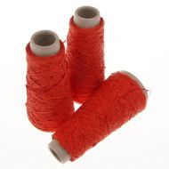 105. Latex Effect Yarn - Red 8122