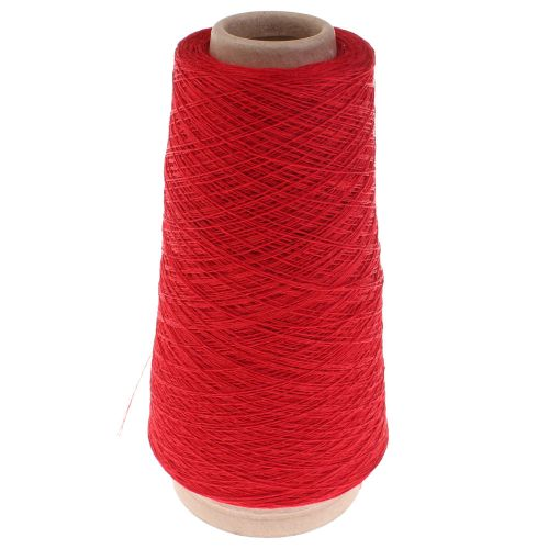 115. 2/28 Linen - Red 307