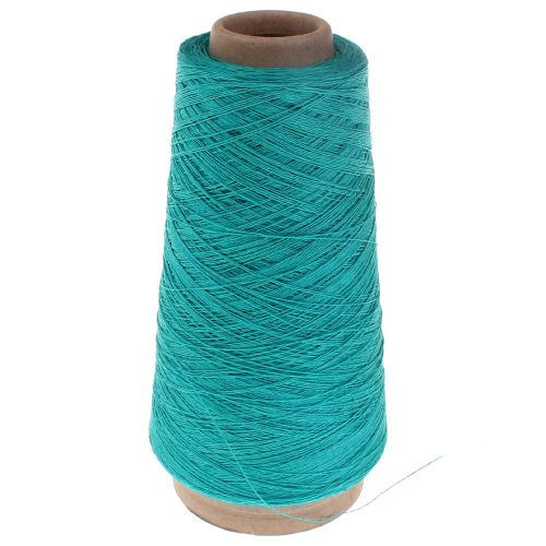 107. 2/28 Linen - Turquoise 3467