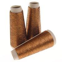 132. Classic Twist Lurex - Black Copper 1412