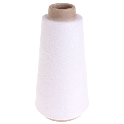 101. 'Papel' Thermosetting Yarn - White 0051