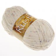 102. 'Rustic' Aran Tweed - Cream DAT1
