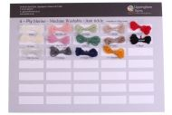 312. Sample Sheet - King Cole 4-Ply Merino Wool