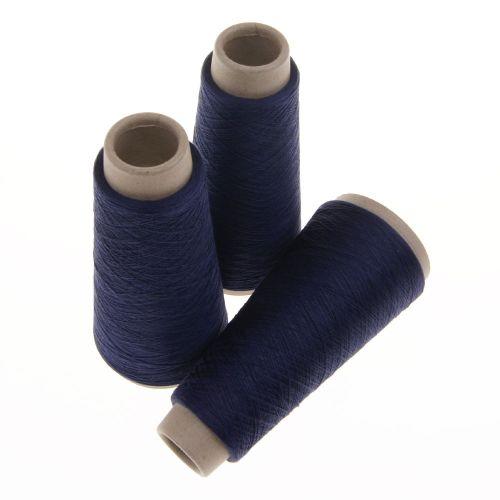 116. Spun Silk Yarn - Navy 4578