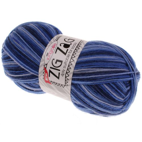 111. Sock Wool - Bluebird