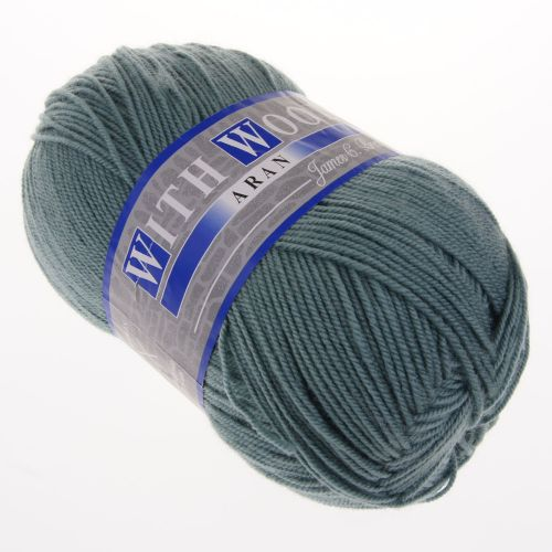 111. With Wool - Sea Green